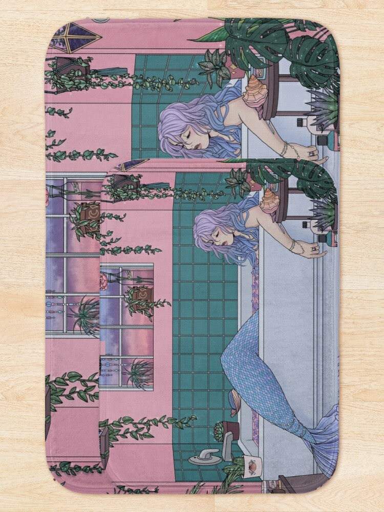 Alternate view of Urban Mermaid Bath Mat
