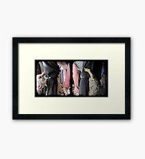 Click Go The Shears - TTV Diptych Framed Print