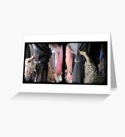 Click Go The Shears - TTV Diptych Greeting Card