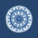 Blue Beads by elledeegee
