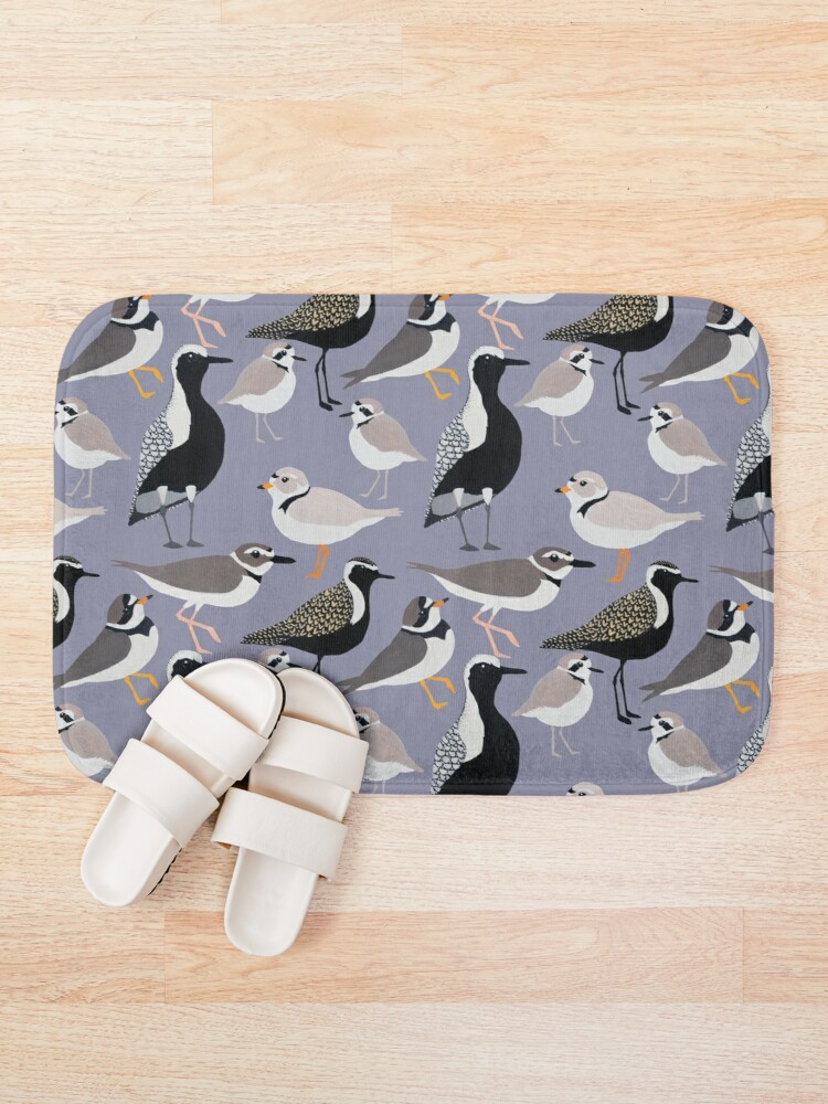 Alternate view of Plethora of Plovers Bath Mat
