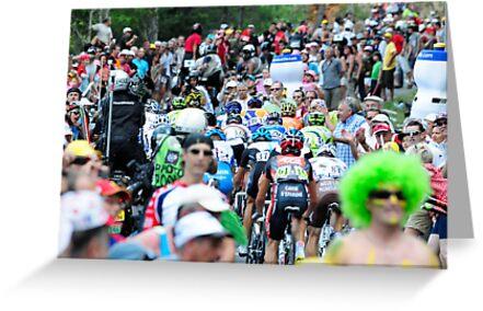 Tour de France by Eamon Fitzpatrick