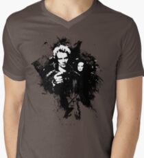 I'll cut you with my blade! Men's V-Neck T-Shirt
