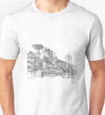 Capri Ferry Wharf, Sorrento, Italy T-Shirt
