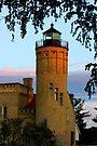 Lighthouse, Mackinaw City by John Carpenter