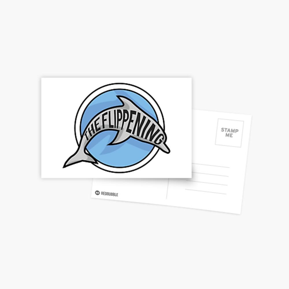 The Flippening Postcard