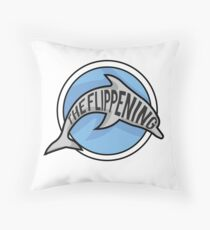 The Flippening Throw Pillow