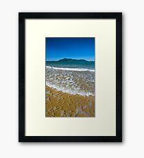 Clear water to Dunk Island Framed Print