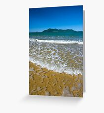Clear water to Dunk Island Greeting Card
