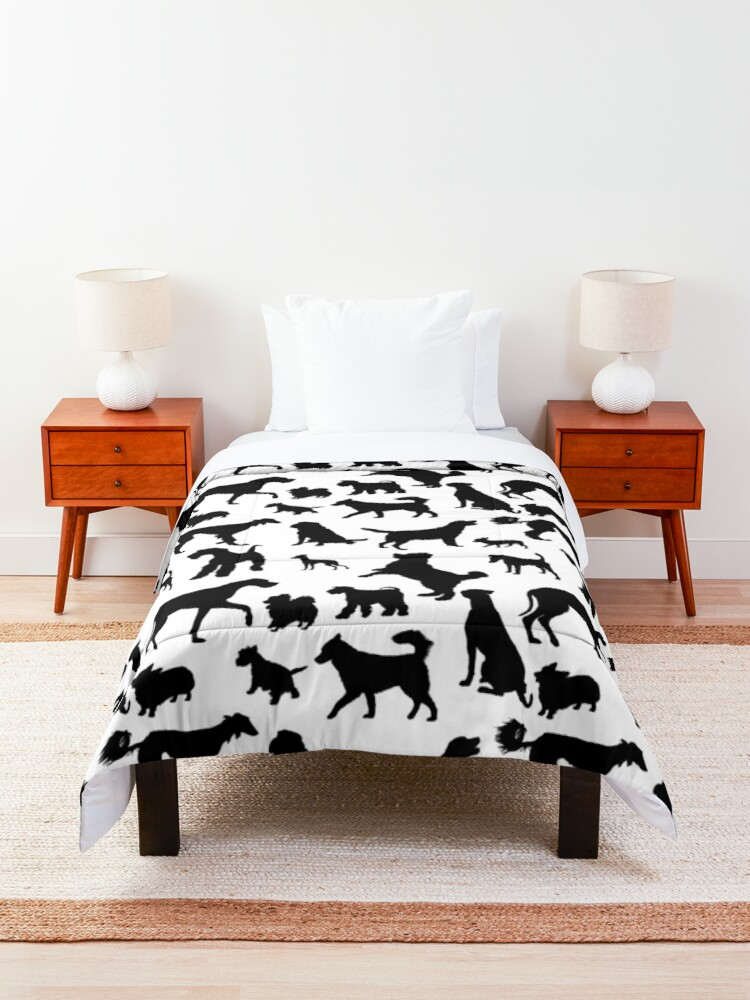 Alternate view of Dog Pattern | Puppy Pet Dog Owner Breed  Comforter