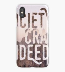 Society - Into the wild iPhone Case/Skin