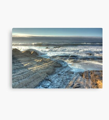 The Secret Beach Canvas Print