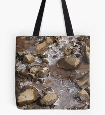 Icicle Patterns Tote Bag
