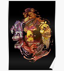 Five Nightmares of Freddy's Poster