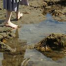 Walking by Rock Pool by shane22