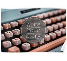 Write Your Story Poster