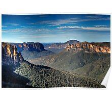 Grose Valley   Blue Mountains Australia   Govetts Leap Poster