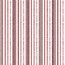 Dünne rote gesprenkelte Linien von MarkUK97
