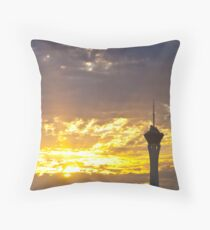 Rise Up, Vegas Style Throw Pillow
