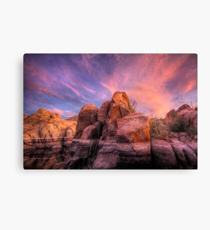 Soft and Hard Canvas Print