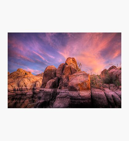 Soft and Hard Photographic Print