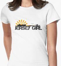 Jersey Girl Women's Fitted T-Shirt
