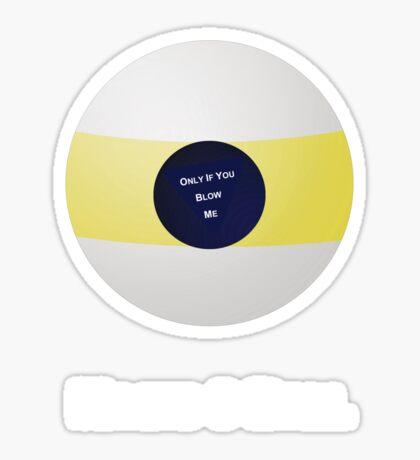 Magic 9 Ball Sticker