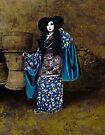 Geisha with Pots by Jeff Burgess
