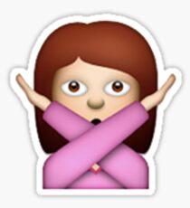 Crossed Arms Emoji Sticker