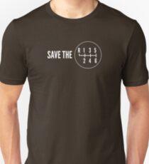 Save the Manual Transmissions (stick shift) T-Shirt