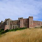~ Bamburgh Castle ~ by Sandra Cockayne