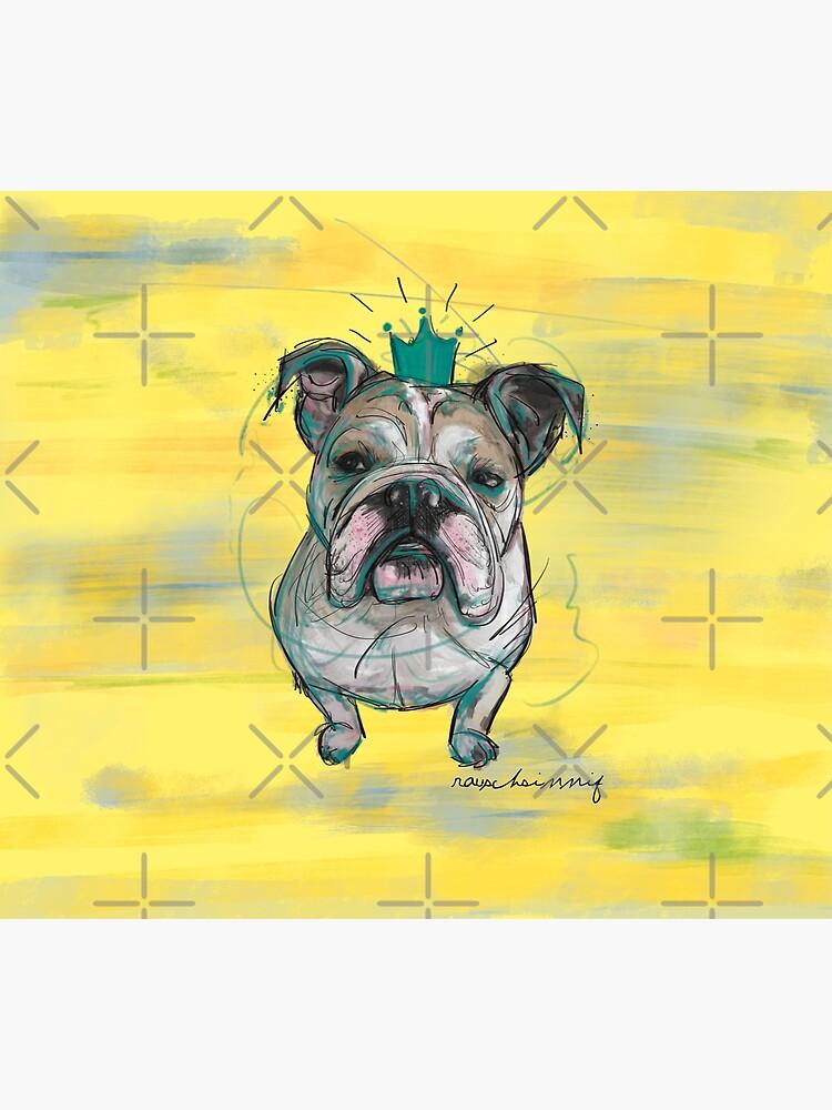 Bulldoggen Prinzessin von rauschsinnig