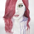 Pink Karma Watercolour by essenn