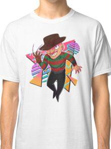 80s Horror Icons- Freddy Krueger Classic T-Shirt