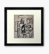 Modern Work Framed Print