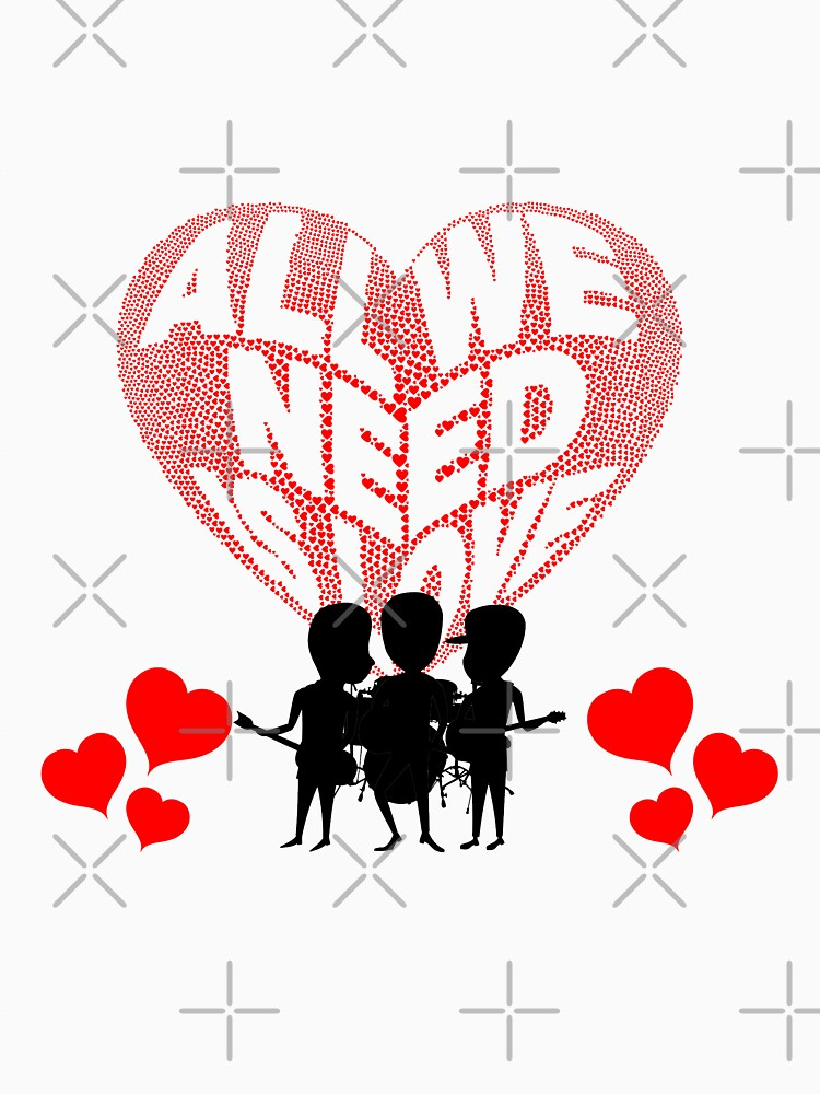 All We Need is Love Beat Band by tribbledesign