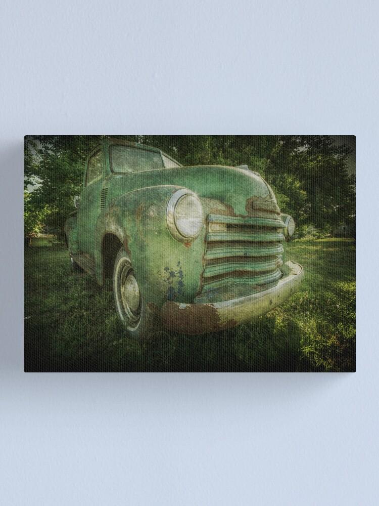 Alternate view of Seen Better Days Canvas Print
