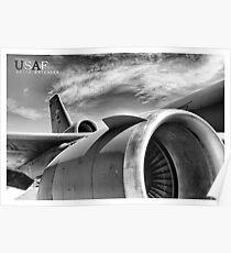 US Air Force KC-10 Extender Aircraft Poster