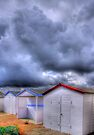 Beach Huts - Shoreham Beach - West Sussex - HDR by Colin  Williams Photography