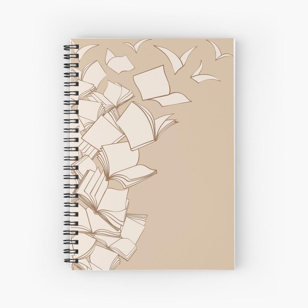 Books Spiral Notebook
