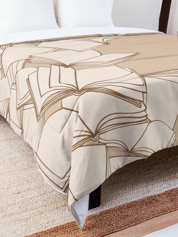 Alternate view of Books Comforter