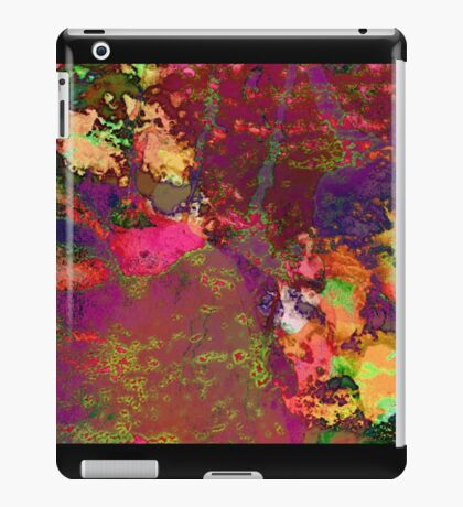 Paw Prints Paint Splash iPad Case/Skin