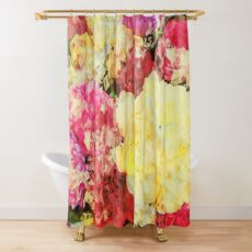 Springtime Bouquet Art Shower Curtain