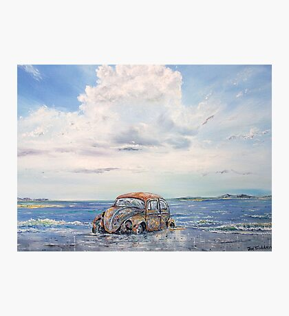 VW Beetle in need of T.L.C. Photographic Print