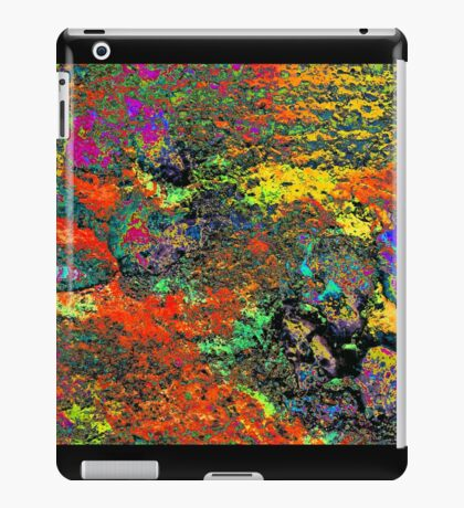 Paw Prints Colour Frenzy iPad Case/Skin