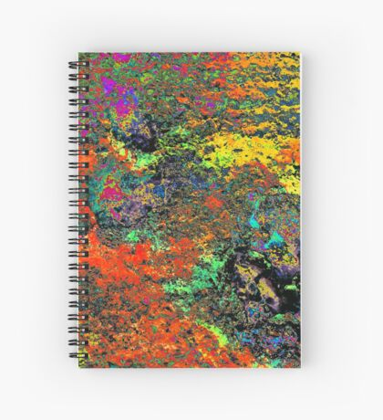 Paw Prints Colour Frenzy Spiral Notebook