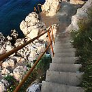 Stairs to the sea by aleksandra15