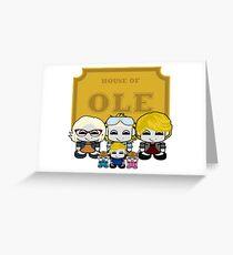 O'BABYBOT: House of Ole Family Greeting Card