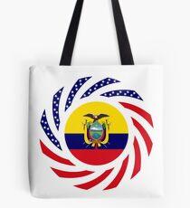 Ecuadorian American Multinational Patriot Flag Series (Asencio Edition) Tote Bag