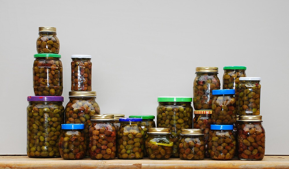 Home Made Olives Collection  by jojobob